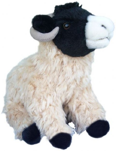 Black faced sheep Cuddly toy 12""